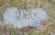 Mary <I>Parker</I> Chamberlain