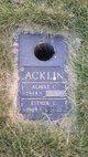 Profile photo:  Albert Cecil Acklin