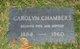 Carolyn Belle Chambers
