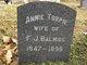 Profile photo:  Annie <I>Torpie</I> Balmos