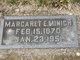 Margaret Elizabeth <I>Barling</I> Minich