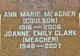 Profile photo:  Ann Marie <I>Coulson</I> Meacher
