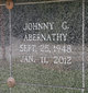 "Johnny Gerald ""Buddy"" Abernathy, Sr"