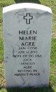 Profile photo:  Helen Marie <I>Settles</I> Agee