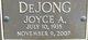 Joyce A. DeJong