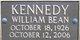 William Bean Kennedy