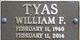 William F. Tyas