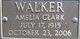 Amelia <I>Clark</I> Walker
