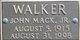 John Mack Walker Jr.
