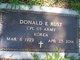 Profile photo:  Donald Earl Rust