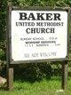 Baker United Methodist Church Cemetery