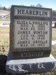 Profile photo:  Eliza L. <I>Phillips</I> Heaberlin