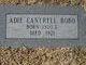 Profile photo:  Adie <I>Cantrell</I> Bobo