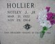 Profile photo:  Notley J. Hollier, Jr