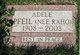 Profile photo:  Adele <I>Raho</I> Pfeil