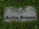 Profile photo:  Anita Brown