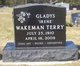 "Gladys ""Irene"" <I>Monroe</I> Wakeman Terry"