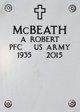 Profile photo:  A. Robert McBeath
