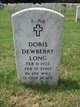 Profile photo:  Doris <I>Dewberry</I> Long