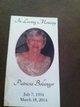 Patricia <I>Coyle</I> Bolsinger