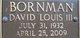 David Louis Bornman III