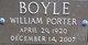 William Porter Boyle
