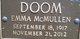 Emma McMullen Doom