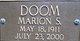 Marion S. Doom