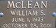 William S. McLean