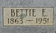 Bettie Ellen <I>Brown</I> Davis