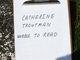 Profile photo:  Catharine <I>Wolgerman</I> Troutman