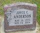 Joyce C. <I>Knapwurst</I> Anderson