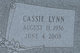 Cassie Lynn <I>Jones</I> Mooneyhan