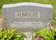 Profile photo:  Edith <I>Robinson</I> Albright