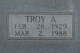 Troy A. Gammons
