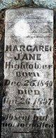 Profile photo:  Margaret Jane Hightower