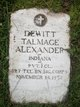 Profile photo:  DeWitt T. Alexander