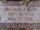 Profile photo:  Abraham J. Beier