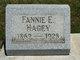 Fannie Edna <I>Trushel</I> Hagey