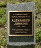 Alexander Junkins Burial Ground