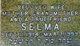 Profile photo:  Selma <I>Friedman</I> Berman
