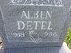 Profile photo:  Alben Detel