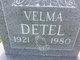 Profile photo:  Velma Detel