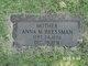 "Profile photo:  Johanna M. ""Anna"" <I>Wohlfeil</I> Bressman"