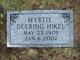 Profile photo:  Myrtie Ann <I>Deering</I> Hikel