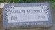 "Profile photo:  Adeline M ""Addie"" <I>Bradburn</I> McKinney"