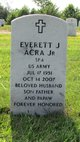 "PFC Everett Joseph ""Ebie"" Acra, Jr"