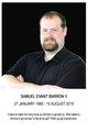 "Profile photo:  Samuel Evant ""Beau"" Barron, II"