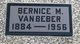 Profile photo:  Bernice Manley <I>Moore</I> VanBeber