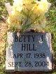 Profile photo:  Betty Jean Hill